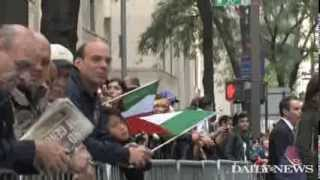 Download Columbus Day parade attracts proud Italian Americans and politicians Video