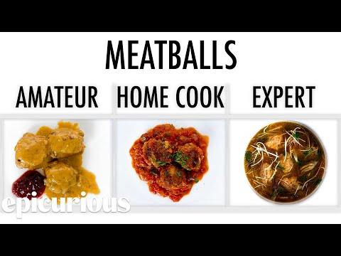 4 Levels of Meatballs: Amateur to Food Scientist   Epicurious