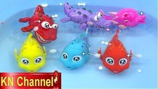 Download Đồ chơi trẻ em Bé Na Câu Cá tập 9 Cá Hề & Cá Sấu vui nhộn Kỹ năng sống Fishing toy playset Kids toys Video