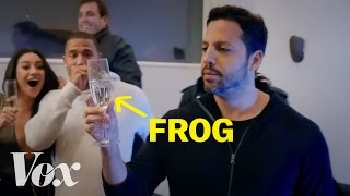 Download How David Blaine barfs frogs Video