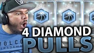 Download OMG 4 DIAMOND PULLS!! NBA 2K17 MY TEAM PACK OPENING Video