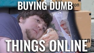 Download BUYING DUMB THINGS ONLINE - JonTron Video