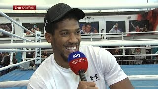 Download RAW! Anthony Joshua ranks his toughest opponents, talks Povetkin preparation & on Whyte/Parker wins Video