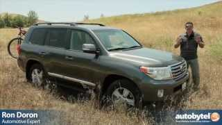 Download 2013 Toyota Land Cruiser Test Drive & SUV Video Review Video