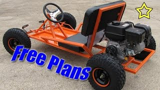 Download Go Kart Build Free Plans (PDF Download) Video
