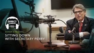 Download S3 E1: Sitting Down with Secretary Perry (Direct Current - An Energy.gov Podcast) Video