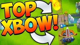 Download Top XBOW Deck! 5000 Trophies! // Clash Royale Video