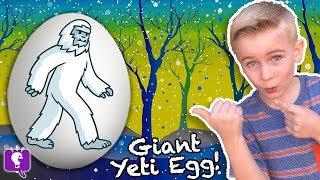 Download Giant YETI SURPRISE Eggs with HobbyKidsTV Video