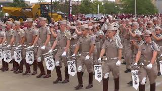Download Fightin' Texas Aggie Band March-in to Kyle Field - ULaLa Game on Sept 16, 2017 Video