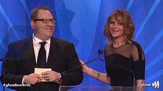Download Hollywood loves Harvey Weinstein - montage of Jennifer Lawrence, Meryl Streep, Matt Damon etc Video