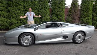 Download Here's Why the Jaguar XJ220 Is the Craziest 1990s Supercar Video