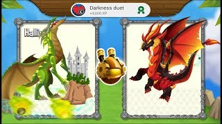 Download Dragon City - Promethium Dragon vs Apocalypse Dragon [Legendary Breeding Dragon] Video