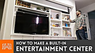 Download How to Make a Built-In Entertainment Center Video