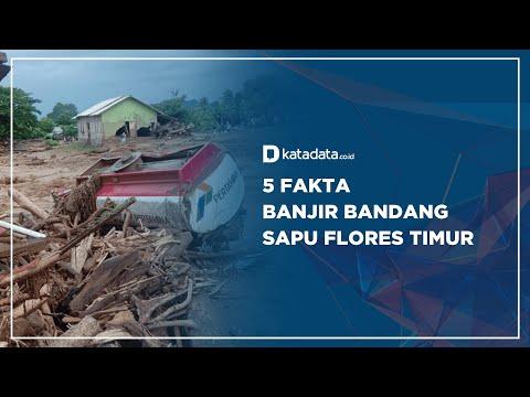 5 Fakta Banjir Bandang Sapu Flores Timur | Katadata Indonesia