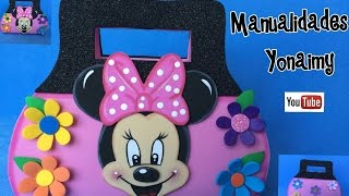 Download BOLSITAS DE MINNIE MOUSE PARA DULCEROS O PARA BOLSA DE MANO PARA NIÑAS Video