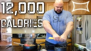 Download World's Strongest Man — Full Day of Eating (12,000+ calories) Video