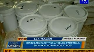 Download Shabu laboratory sa Angeles, Pampanga, sinalakay ng PNP-AIDG at PDEA Video