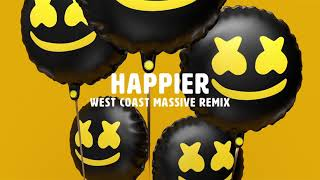 Download Marshmello ft. Bastille - Happier (West Coast Massive Remix) Video