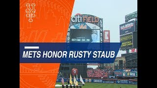 Download Mets pay tribute to the late Staub Video