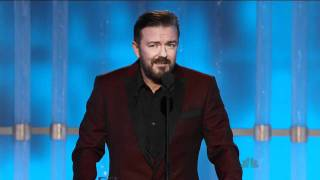 Download Golden Globes 2012 - Ricky Gervais Opening Monologue Video