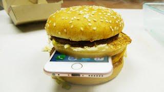 Download iPhone 6S in McDonald's Big Mac Dropped in Hot Piranha Acid! Video