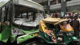 Download Delhi: Low-floor DTC bus kills two at Azadpur metro station Video