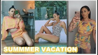 Download TRENDY SUMMER VACATION FASHION | Try On Video