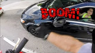 Download BIKER SMASH MIRROR | ANGRY PEOPLE VS. BIKERS | ROAD RAGE | [Ep. #65] Video