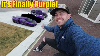 Download Introducing the new PURPLE Supercar to the Garage! Video