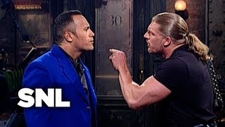 Download The Rock Monologue: WWF Stars Stop By - SNL Video