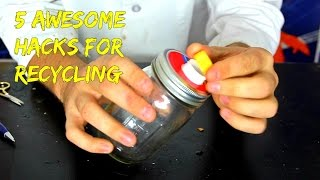 Download 5 Recycled Life Hacks Video