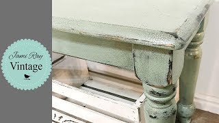 Download How To Get Chippy Two Toned Paint   Crackle Paint Video