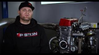 Download Building a 500hp Naturally Aspirated K24 Engine with 4 Piston Racing Video
