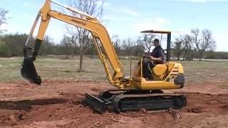 Download Komatsu PC40-7 Excavator Trackhoe Backhoe *No Reserve* Video