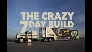 Download 7 days to build the Gas Monkey Energy race hauler for Laughlin Motorsports. Video