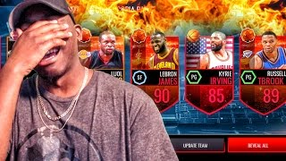 Download CORNUCOPIA PACK OPENING W/90+ LEGEND! NBA Live Mobile 16 Gameplay Ep. 42 Video