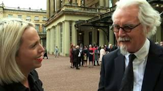 Download Comedian Billy Connolly becomes a Sir Video