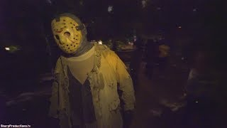 Download Nightmare on Camp Crystal Lake at Warner Bros. Studio Tour Horror Made Here A Festival of Frights Video