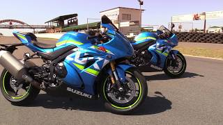 Download Suzuki GSX-R1000 vs. GSX-R1000R Track Test Video