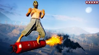 Download GTA 5 Five Star Survival! - Doing Some Crazy Stuff on GTA 5 Video