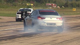 Download 710HP BMW M6 Gran Coupé LA-Performance - Revs, Accelerations, Drag Racing! Video