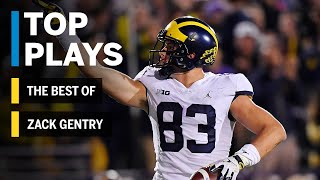 Download The Best of Zach Gentry: 2018 Mid-Season Highlights | Michigan | Big Ten Football Video