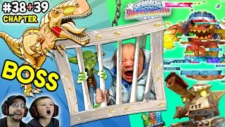 Download LAVA LANCE CORRUPTOR! Lets Play SKYLANDERS SUPERCHARGERS Chapter 38 & 39: Wreck O' Saurus DINO Boss Video
