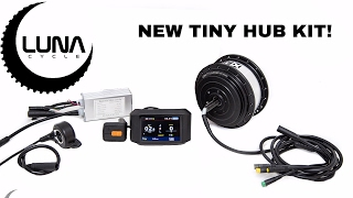 Download luna cycle announces a new small and powerful hub motor kit Video