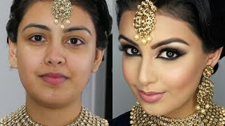 Download Indian/Bollywood/South Asian Bridal Makeup | Start to Finish | Mona Sangha Video