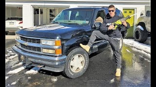 Download TAKING A SAW to the Blazer... $5 DIY Exhaust Sounds EPIC!!! Video