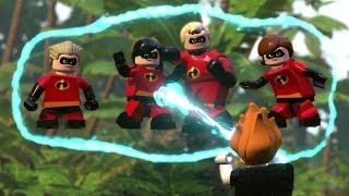 Download LEGO The Incredibles Walkthrough - Chapter 11 Above Parr - All Minikits (100% Guide) Video