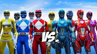 Download Mighty Morphin Power Rangers VS Power Rangers (2017) Video
