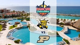 Download Cancun Challenge: Wichita State vs Purdue - NO AUDIO Video
