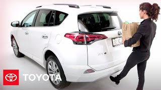 Download Toyota How-To: 2017 RAV4 Foot-Activated Power Liftgate | 2017 Toyota RAV4 | Toyota Video